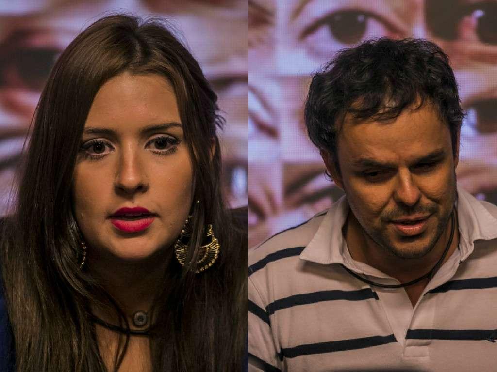 Tamires e Adrilles se desentenderam na casa Foto: TV Globo/Divulgação