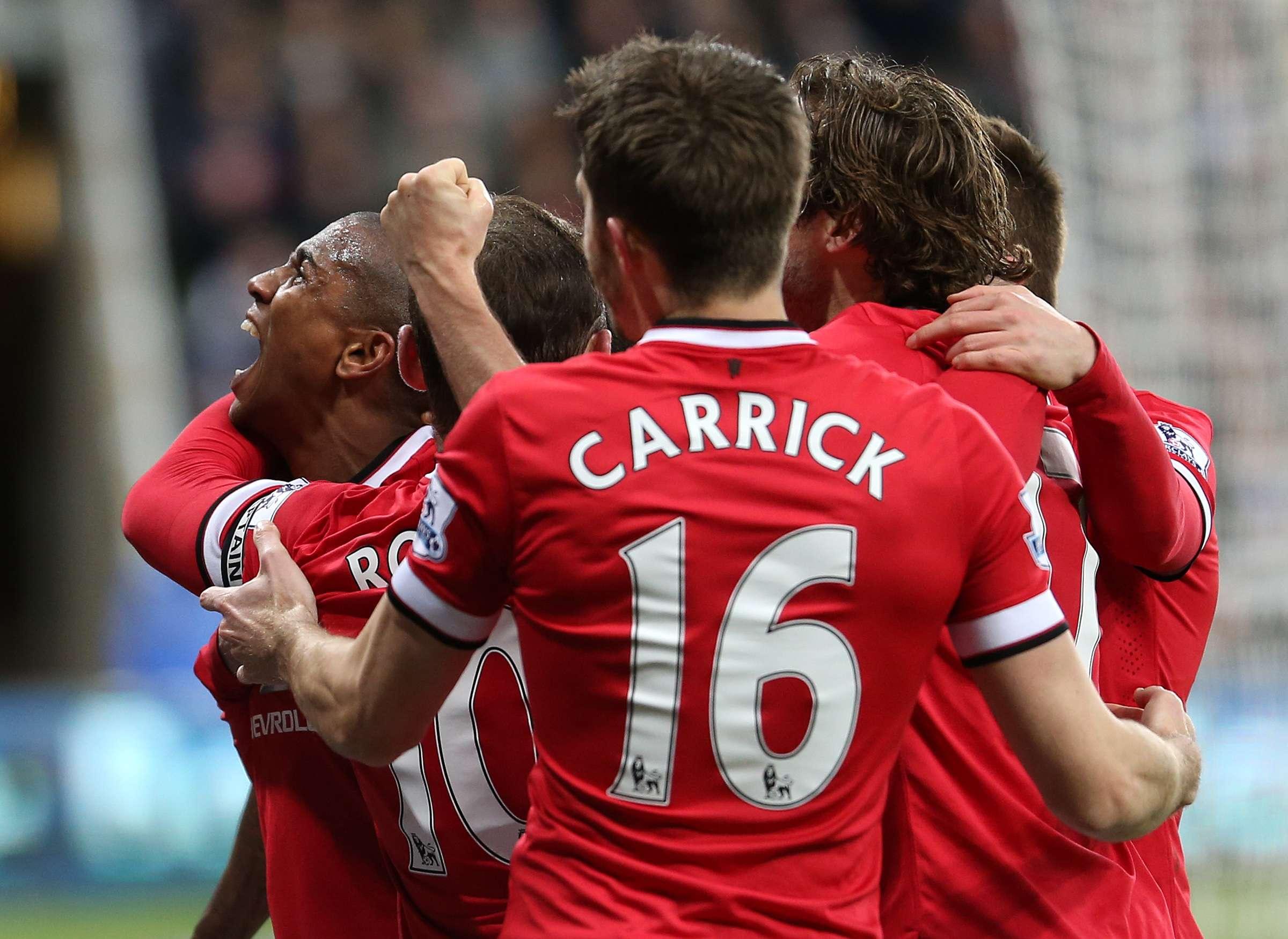 Manchester United se impone 1-0 al Newcastle. Foto: AP