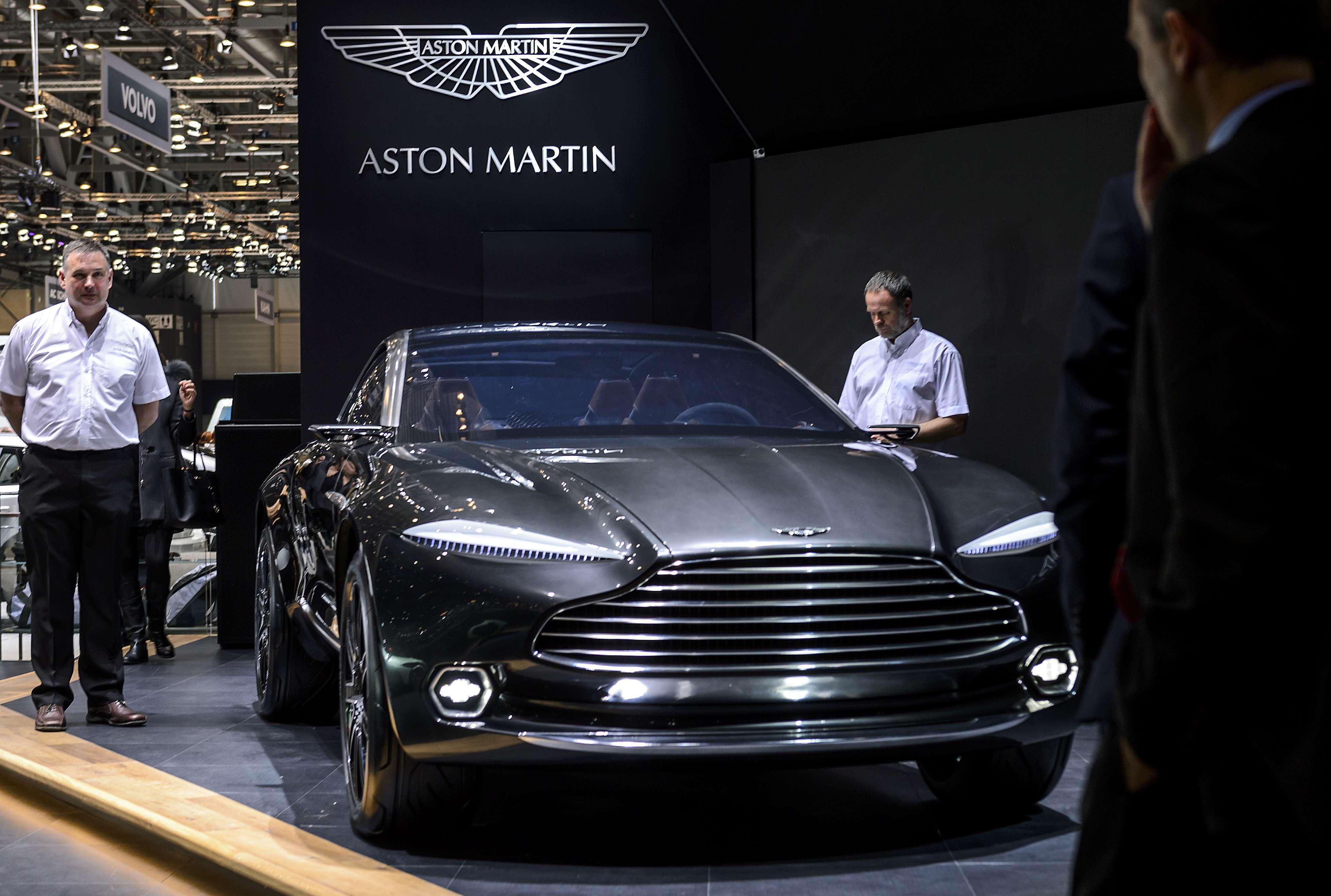 Aston Martin DBX Foto: AFP