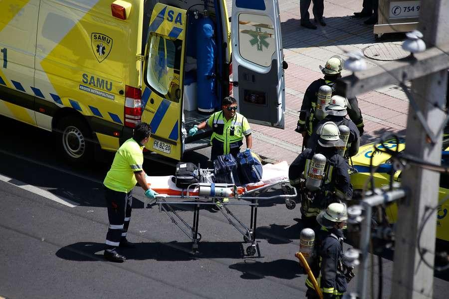 Tres muertos y cinco heridos dejó esta emanación de gas tóxico. Foto: Agencia UNO
