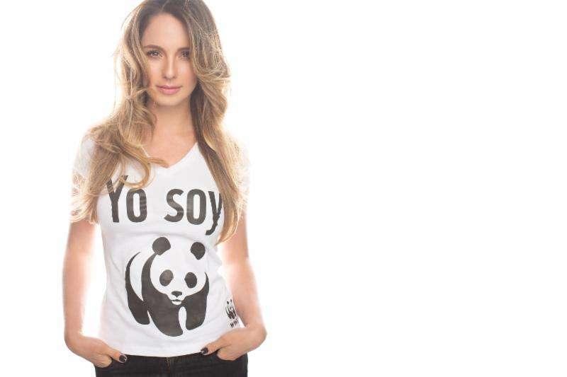 Claudia Bahamón, imagen de La hora del planeta. Foto: Cortesía prensa WWF./Archivo particular