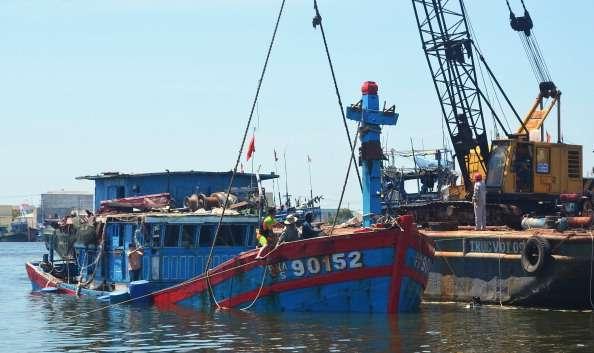 El navío presentó documentación que lo acreditaba como transporte de cereales. Foto: Getty Images