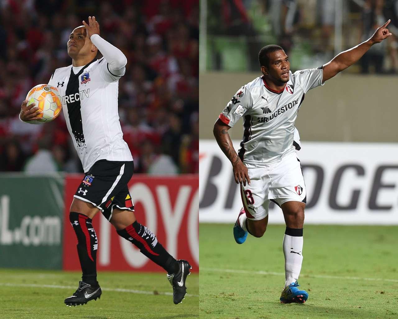 Colo Colo vs. Atlas en Libertaodres. Foto: AP