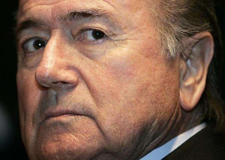 Presidente da Fifa, Joseph Baltter. 17/11/2005 Foto: Siggi Bucher/Reuters