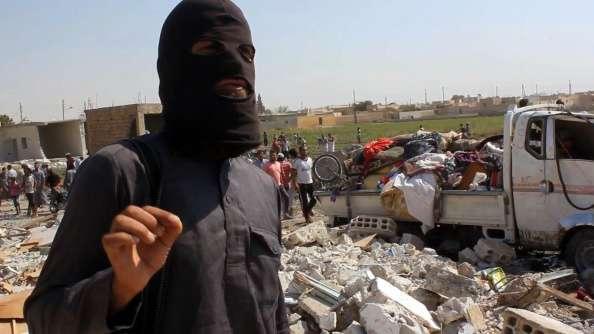 El Estado Islámico arrasó con varios poblados cristianos en la provincia de Hassakeh, en el este de Siria. Foto: Getty Images