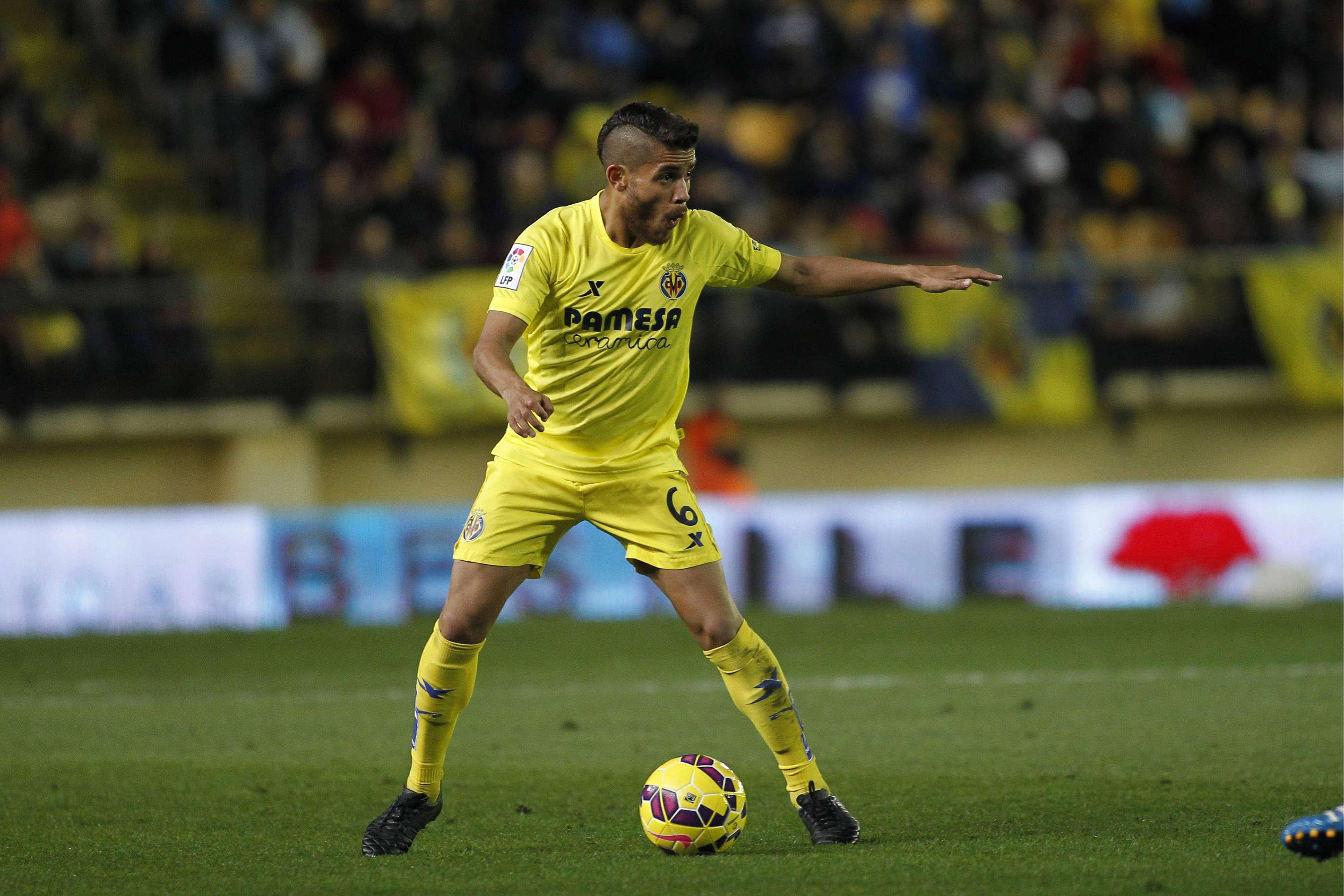 Jonathan dos Santos marcó el empate de Villarreal ante Barcelona. Foto: Mexsport