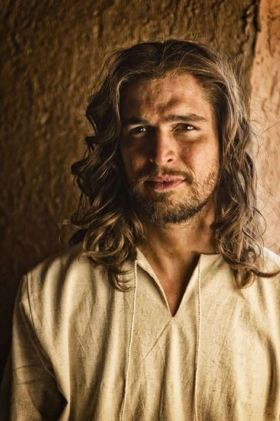 Diogo Morgado es 'Jesús' en ala miniserie 'La Biblia'. Foto: Joe Alblas/Lightworkers Media / Hearst Productions Inc.