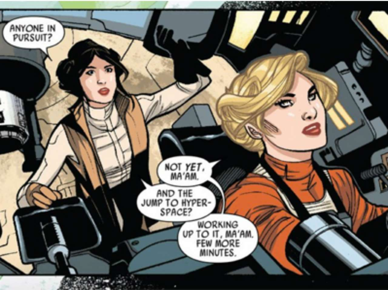 Star Wars: Princess Leia #1. Foto: ComicBook.com