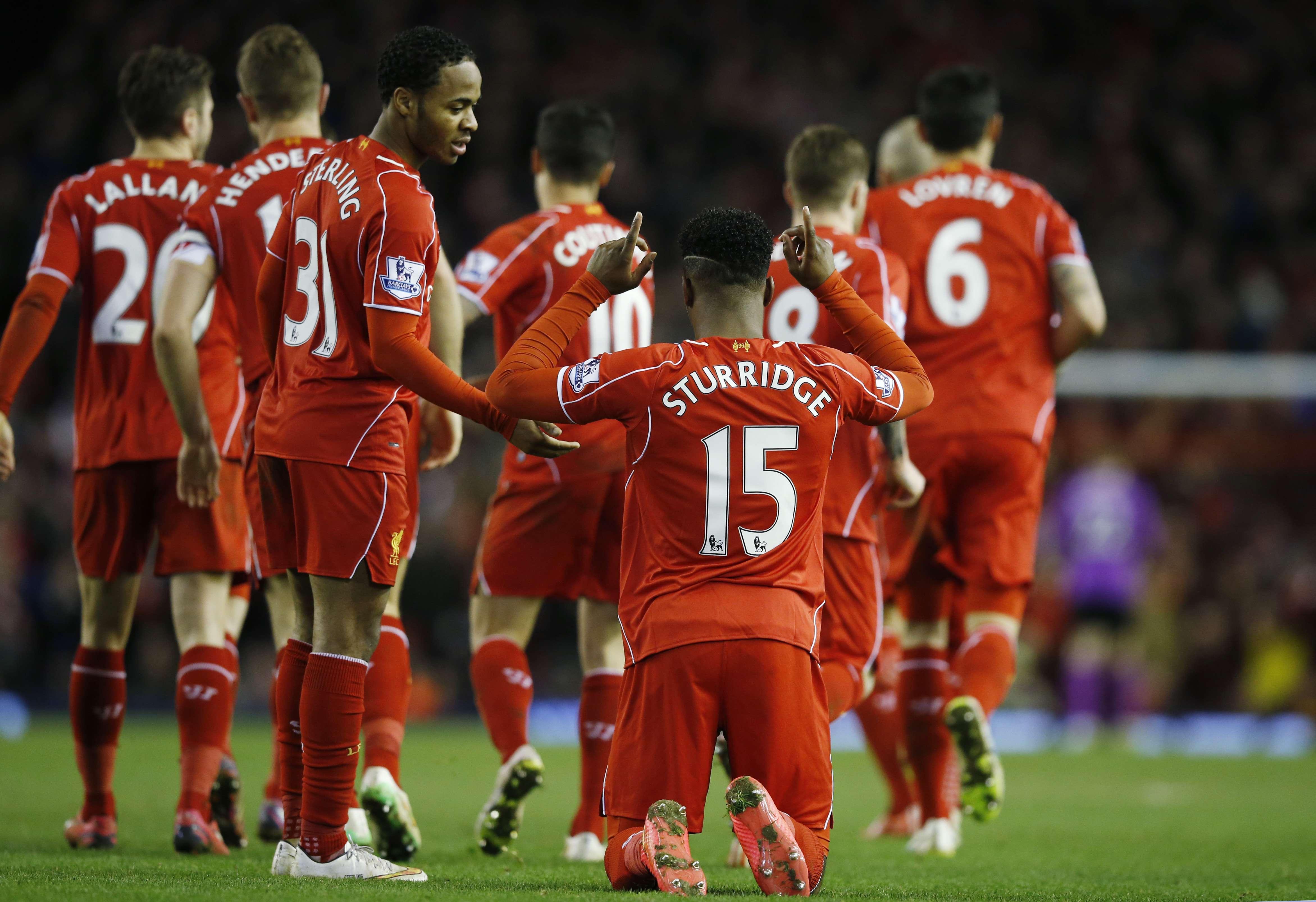 Sturridge hizo el segundo y definitivo gol. Foto: Reuters