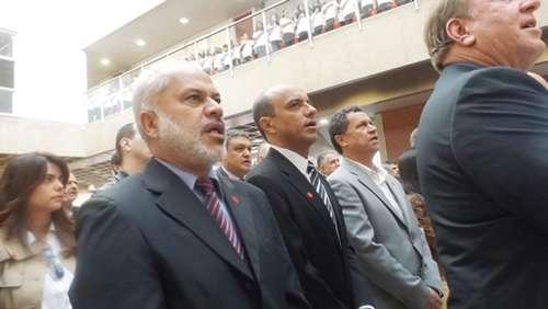 Luiz Carlos Vergara (PSB) deu um tapa no rosto de um eleitor na Câmara Municipal de Franca, no interior de São Paulo Foto: Divulgação