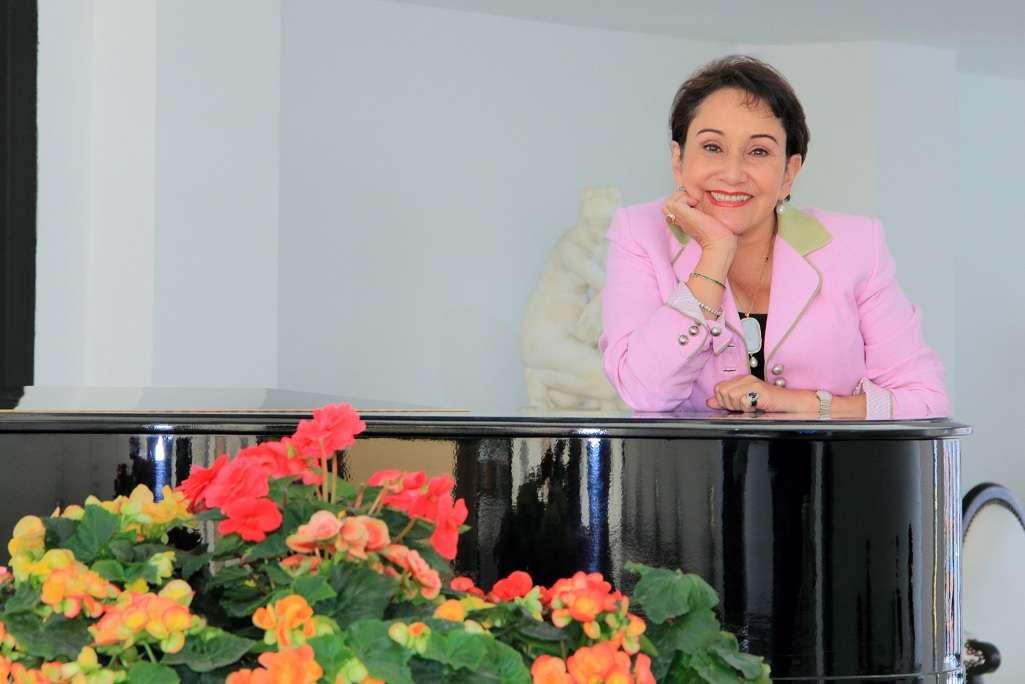 Luz Soler, fundadora de la Universidad ECCI. Foto: Cortesía Universidad ECCI/Archivo particular
