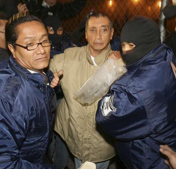 Mario Villanueva Madrid, se convirtió en el primer ex gobernador de una entidad que es entregado en extradición al gobierno de Estados Unidos para que sea juzgado por narcotráfico y asociación delictuosa. Foto: AP en español