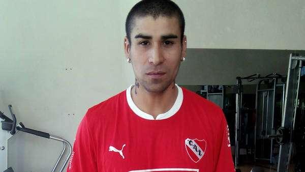 Jesús Méndez quiere volver a jugar en Independiente cuanto antes. Foto: Club Atlético Independiente