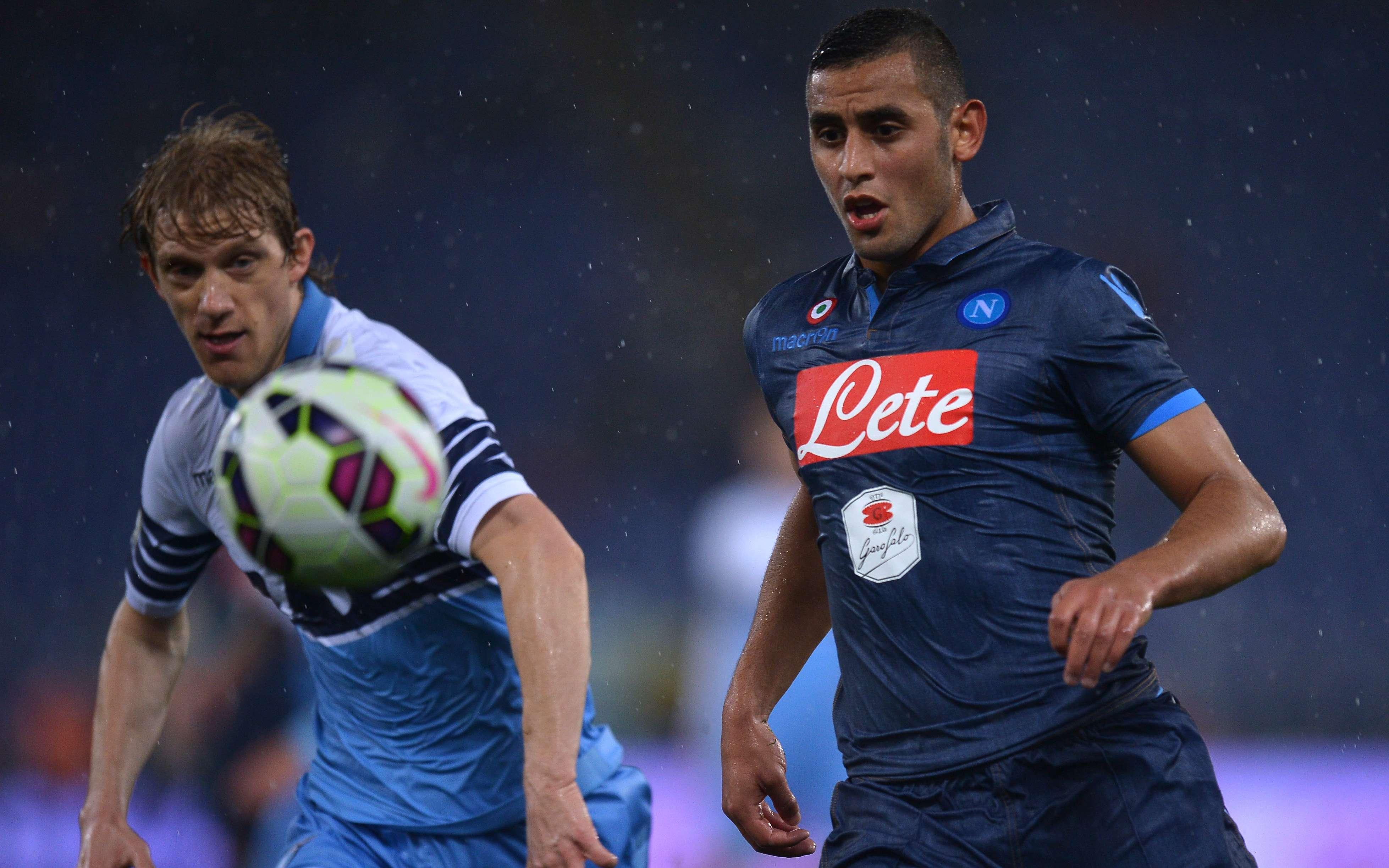 Lazio y Napoli empataron 1-1 en Roma. Foto: AFP