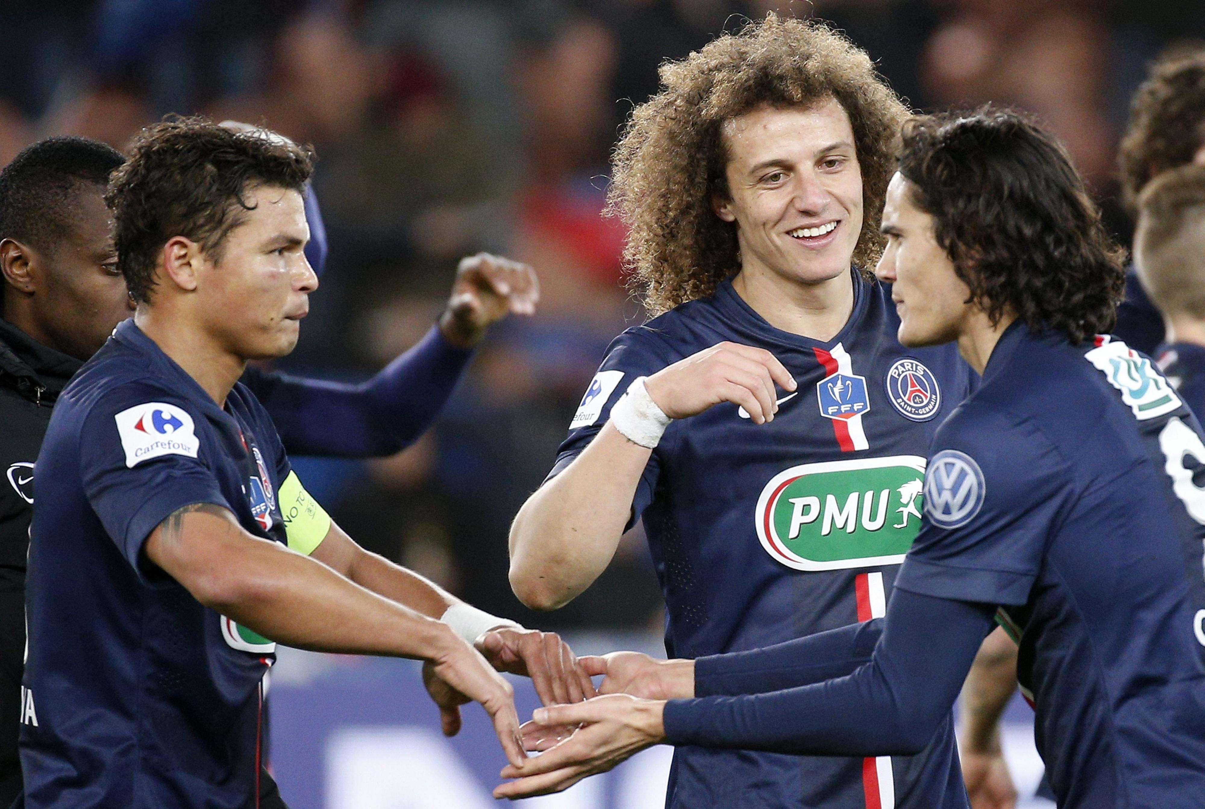 PSG festeja gol contra Monaco Foto: Yoan Valat/Reuters
