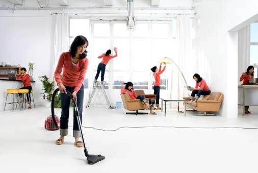 De las dos mil 148 millones de horas a la semana que destinó la población en 2013 para ello, las mujeres realizaron 77.7 por ciento del trabajo no remunerado del hogar. Foto: Getty Images