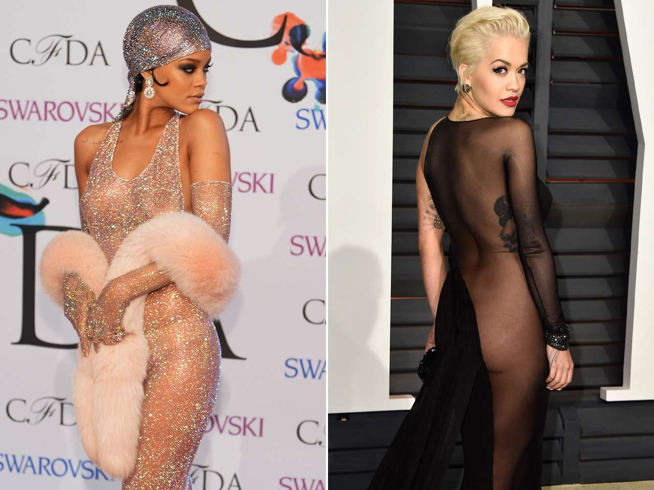 Rihanna vs Rita Hora Foto: Getty Images