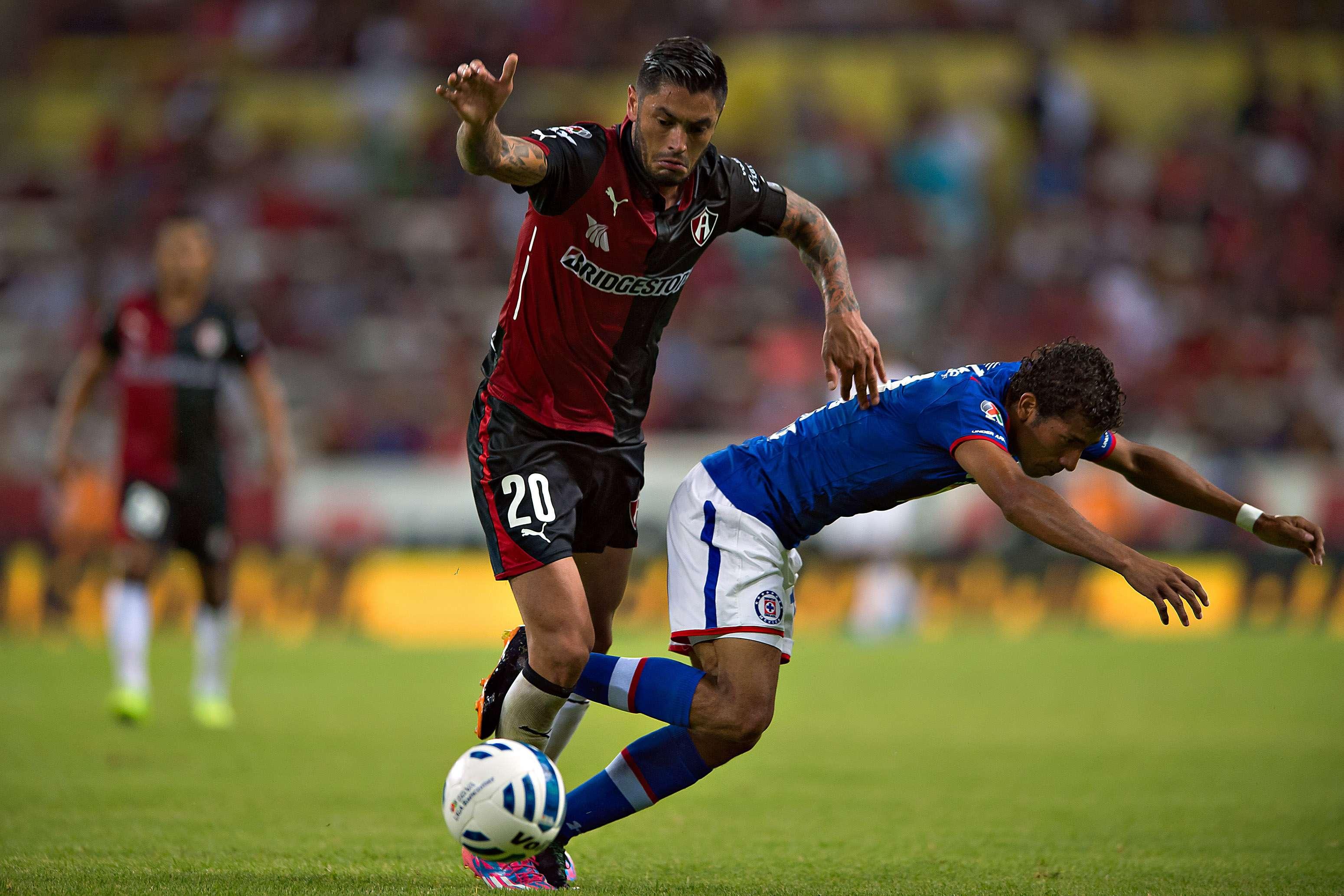 Atlas le ganó el último duelo a La Máquina en el Jalisco, pero ahora visitará el Azul. Foto: Mexsport