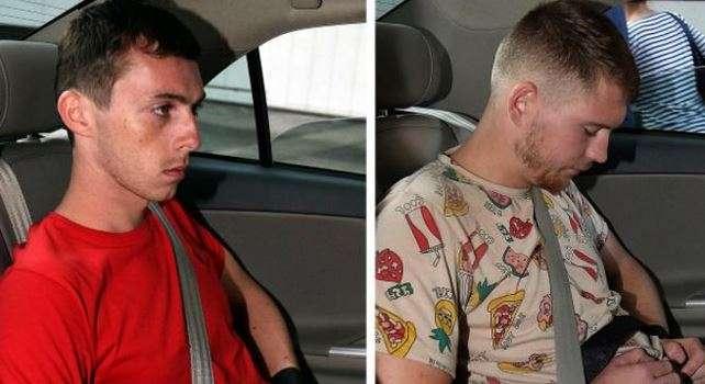 Andreas Von Knorre (izq.) y Elton Hinz reconocieron sus acciones y expresaron remordimiento. Foto: Reuters en español
