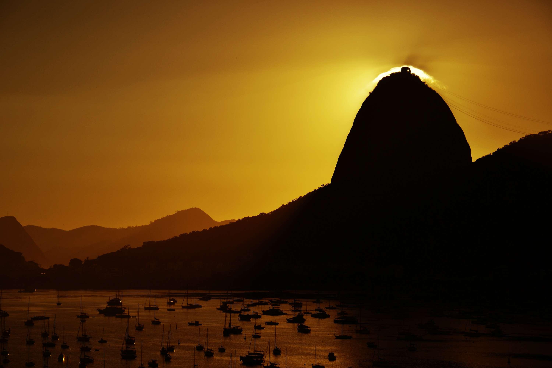 Rio de Janeiro Nascer do sol no Pão de Açúcar Foto: Carlos Monteiro/Futura Press