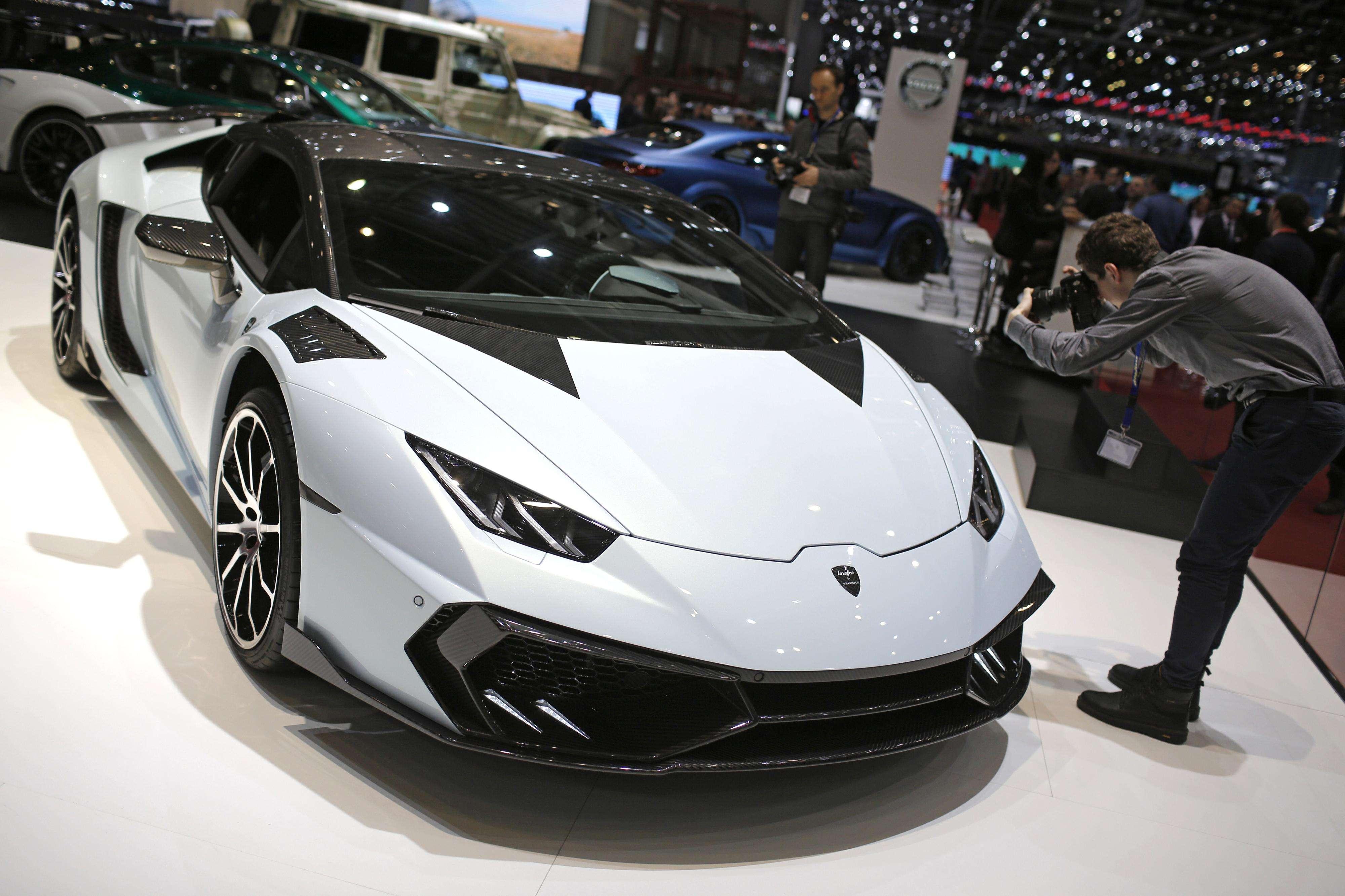 El Mansory Torofeo, presentado en el Salón del Automóvil de Ginebra 2015. Foto: AP Photo