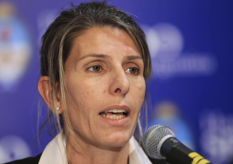 La jueza federal de San Isidro Sandra Arroyo Salgado, la ex mujer de Alberto Nisman. Foto: Noticias Argentinas