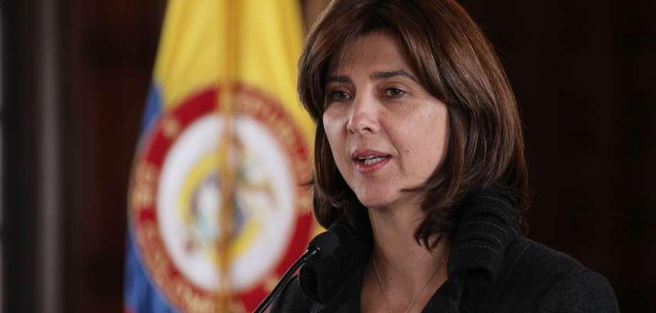 Canciller María Ángela Holguín. Foto: OP Cancillería