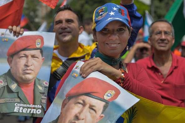 La conmemoración del fallecimiento de Hugo Chávez se extenderá durante 10 días en todo el país. Foto: Anadolu Agency/Getty Images/Archivo