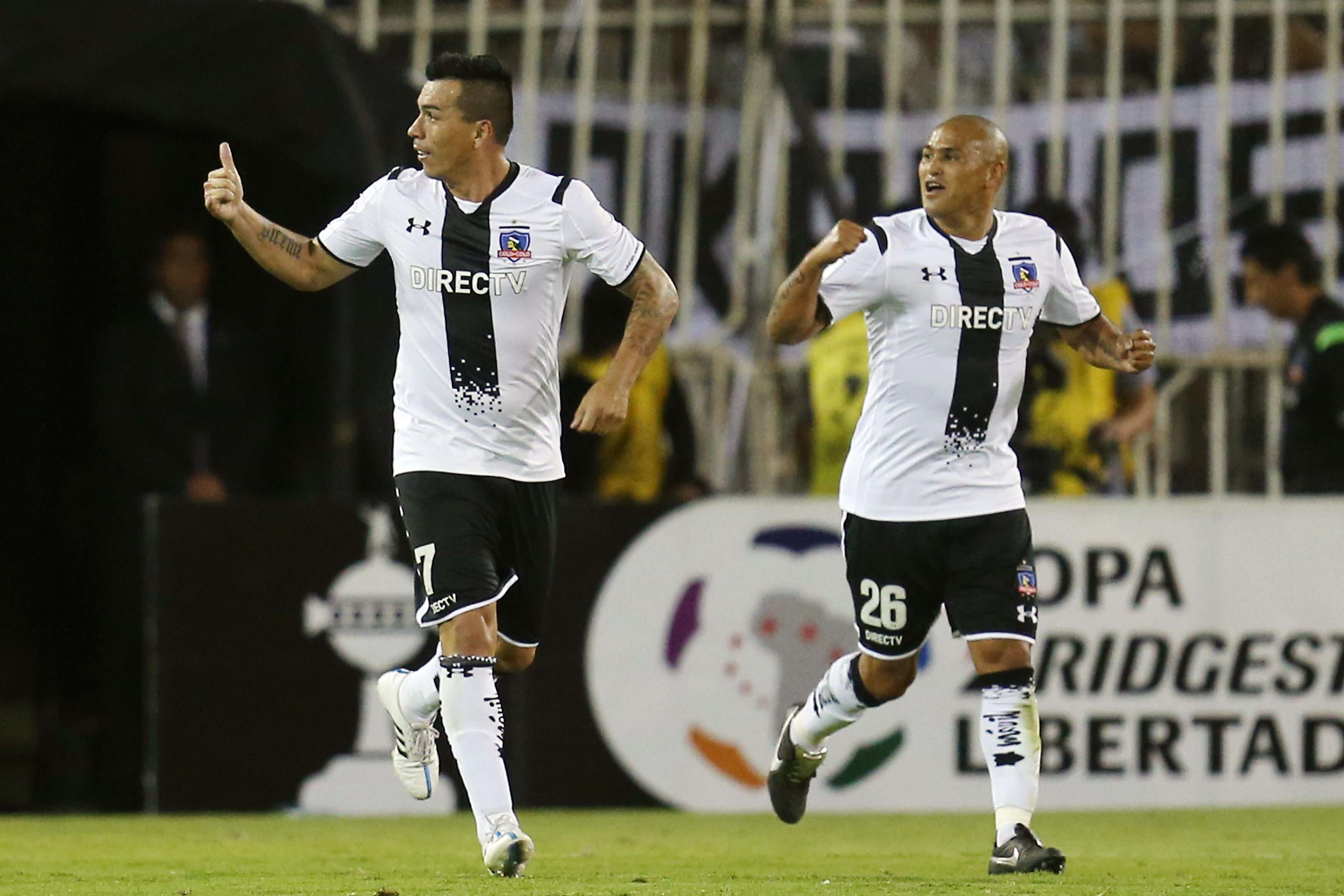 Paredes decidiu a partida para o Colo-Colo contra o Atlas Foto: Mario Ruiz/EFE