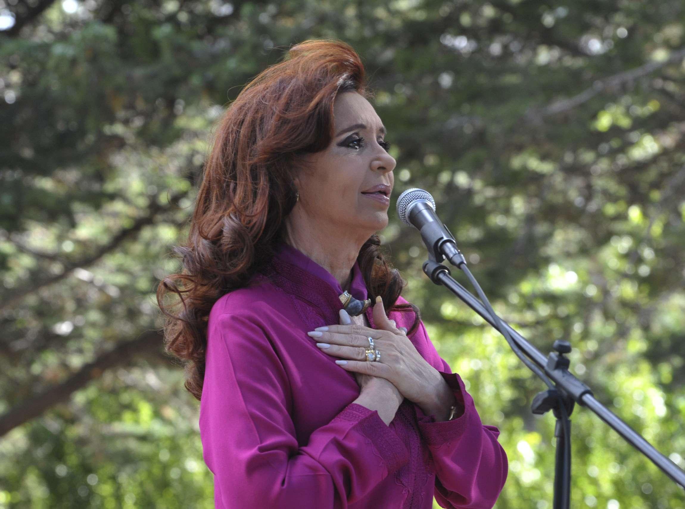 La presidenta Cristina Fernández defendió el accionar del Gobierno en la causa AMIA y se refirió a los documentos hallados en la caja fuerte del fiscal fallecido Alberto Nisman. Foto: NA