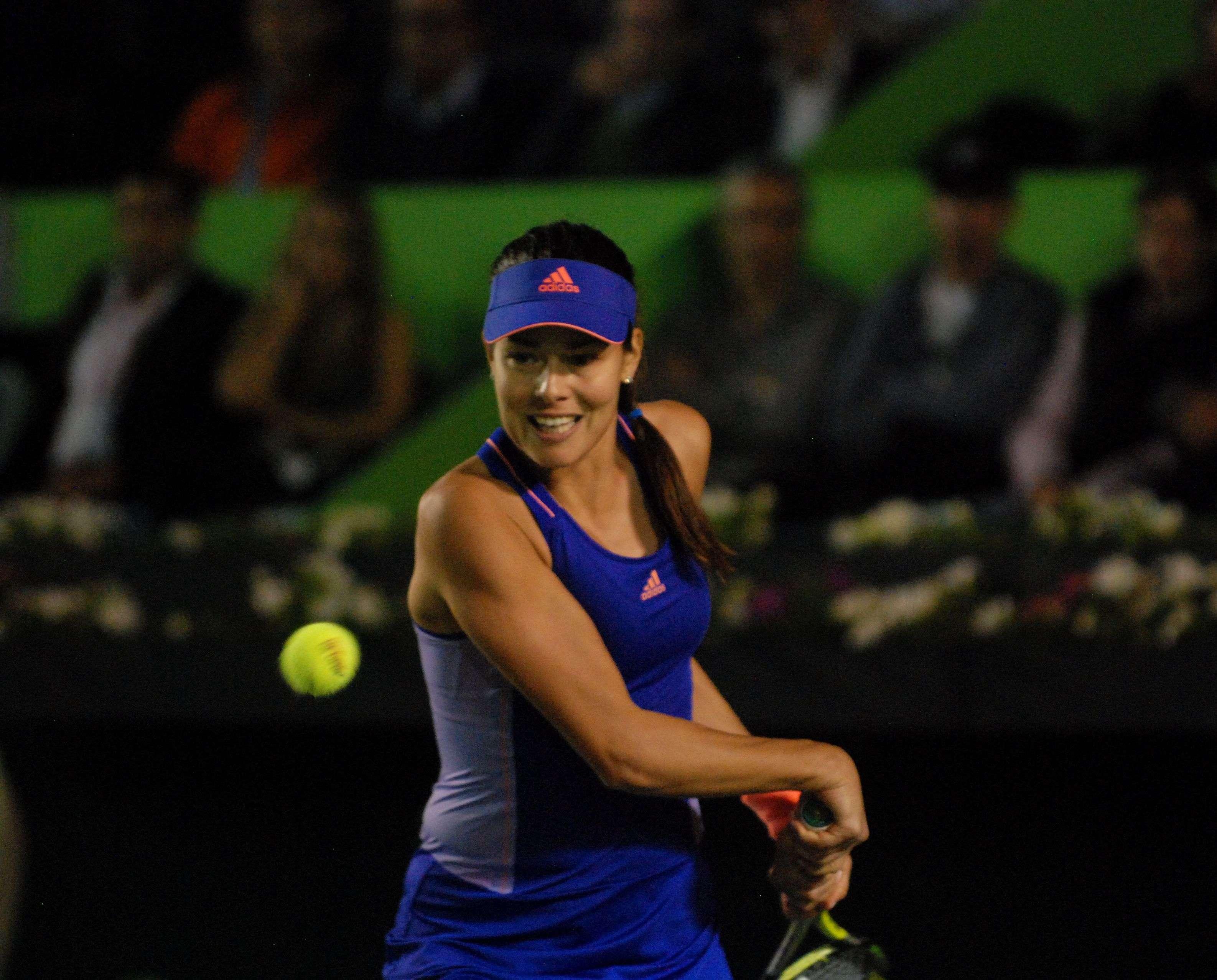 Ana Ivanovic avanzó a los cuartos de final del Abierto de Tenis Monterrey. Foto: Terra