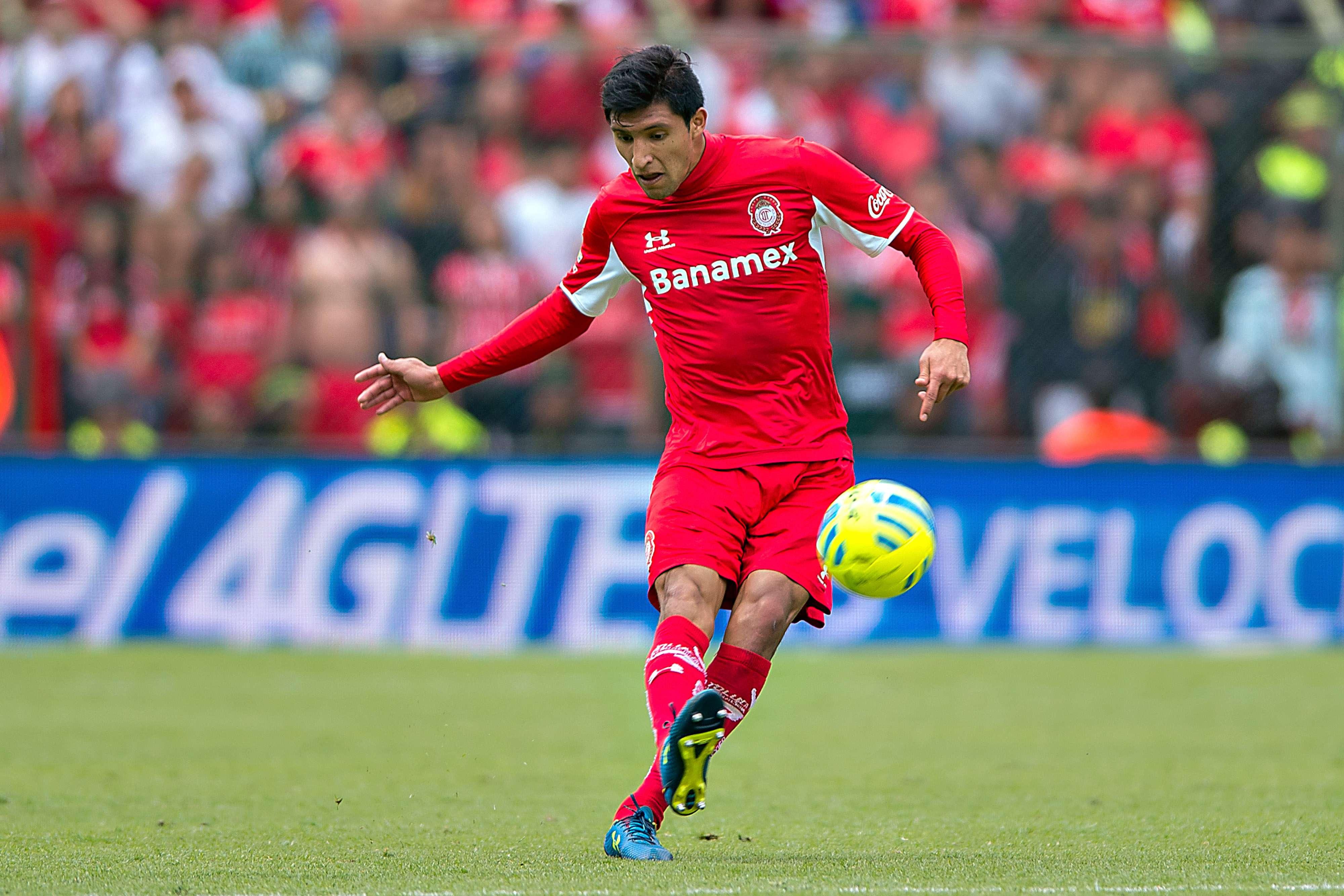 Jordan Silva juega su tercer torneo como defensa de Toluca. Foto: Mexsport