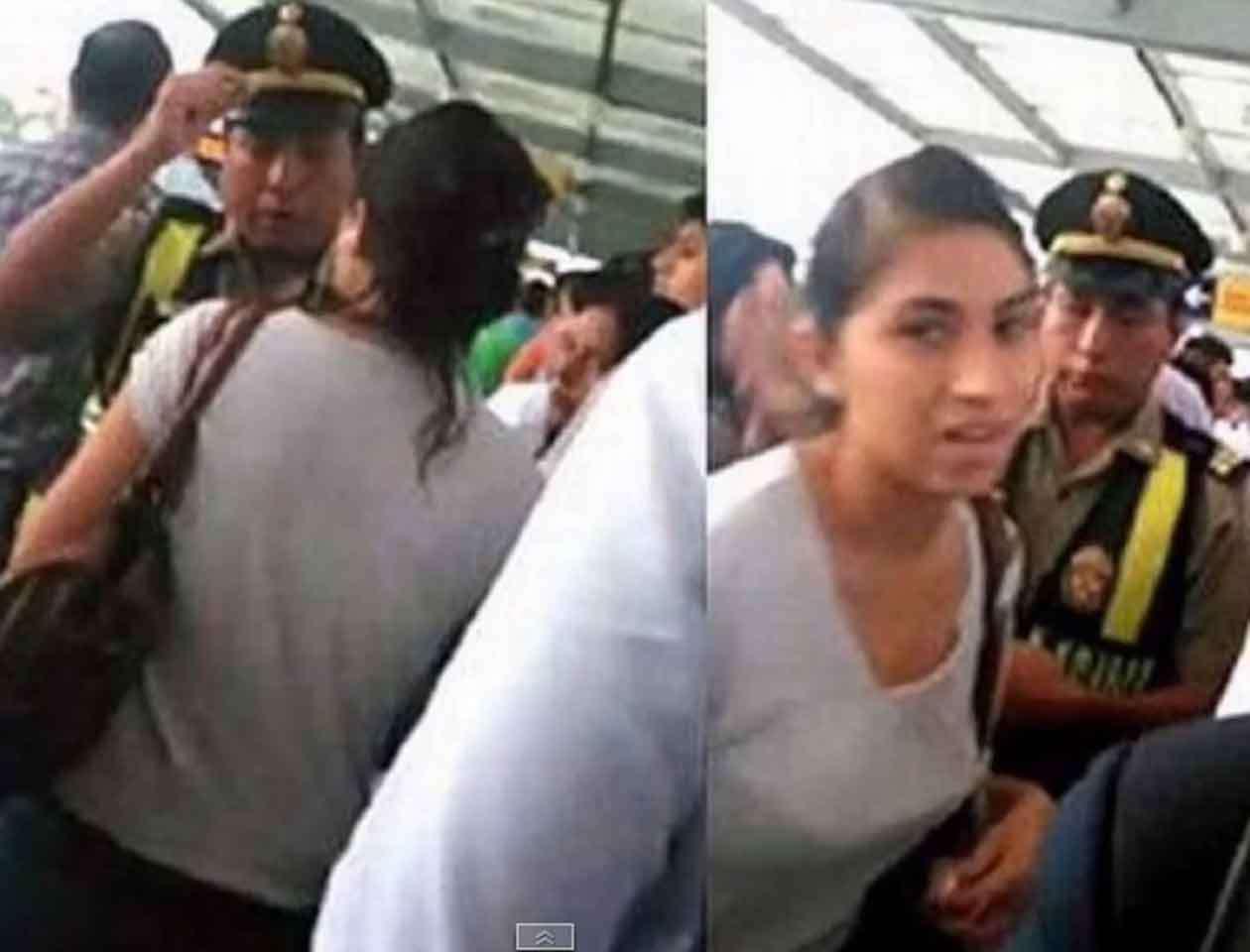 Un pasajero del Metropolitano grabó en video el momento del insulto y lo difundió en redes sociales. Foto: Imagen tomada de YouTube
