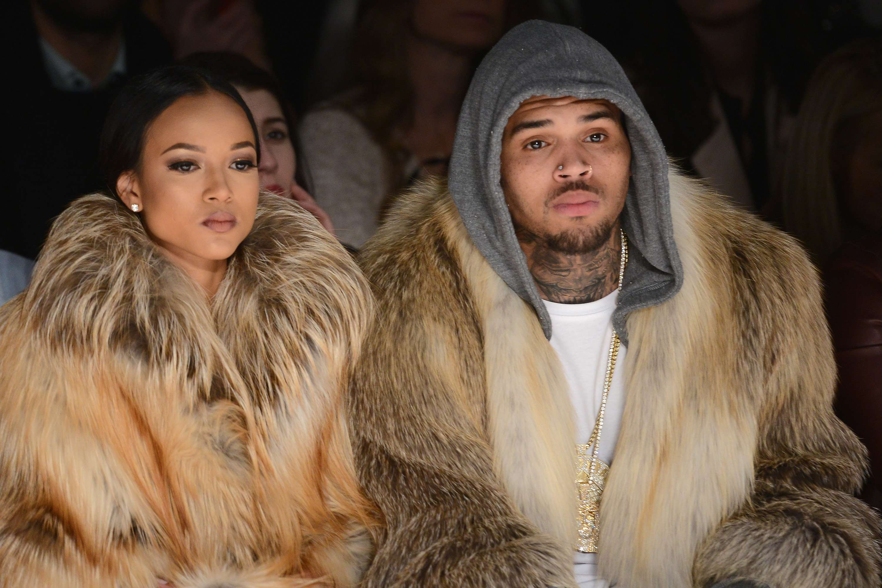 Karrueche Tran ty Chris Brown. Foto: Getty Images