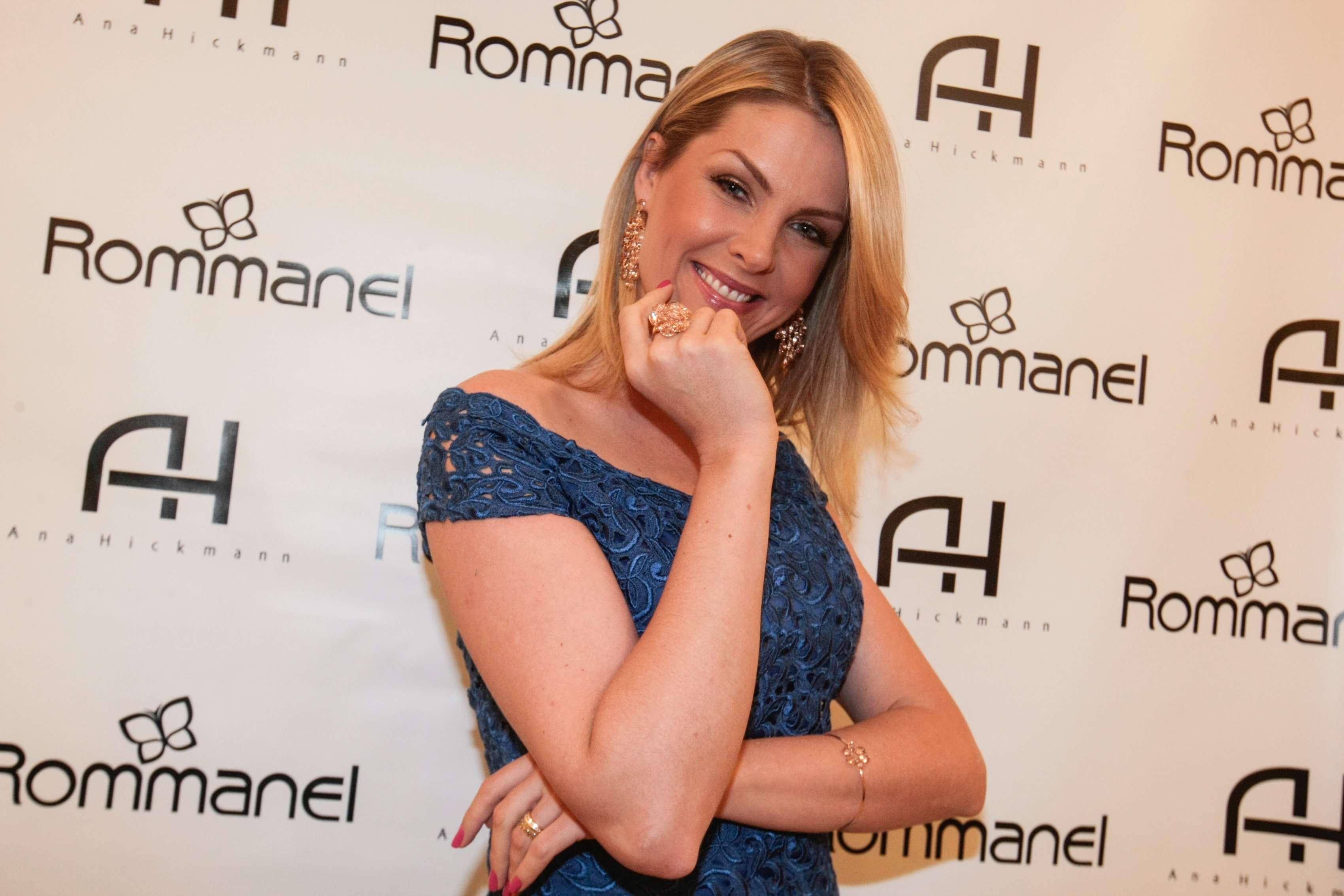 Além de modelo e apresentadora, Ana Hickmann possui uma marca própria que vende 14 categorias de produtos, incluindo desde esmaltes até bolsas, óculos e joias Foto: AgNews