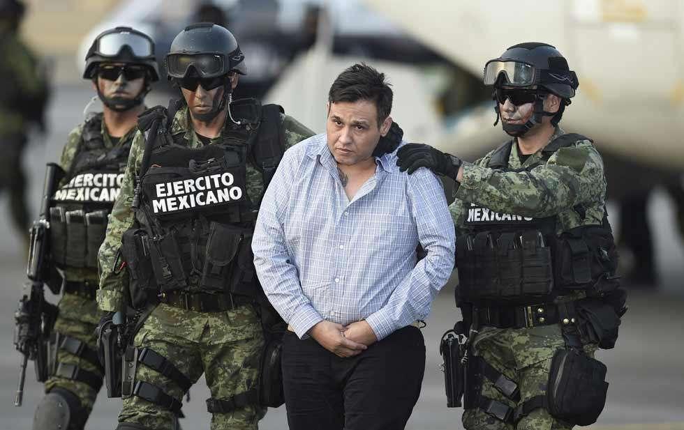 Treviño Morales fue detenido cuando llegaba a su domicilio en el municipio de Garza García en Nuevo León. Foto: AFP en español