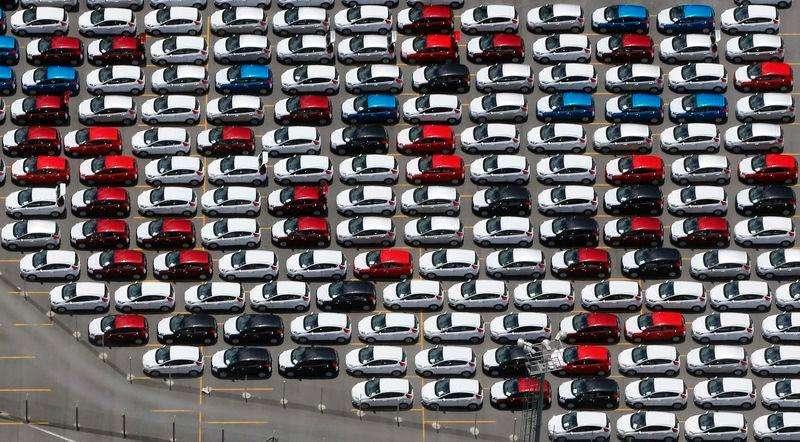 Carros em pátio da Ford na fábrica da empresa em São Bernardo do Campo. 12/02/2015 Foto: Paulo Whitaker/Reuters