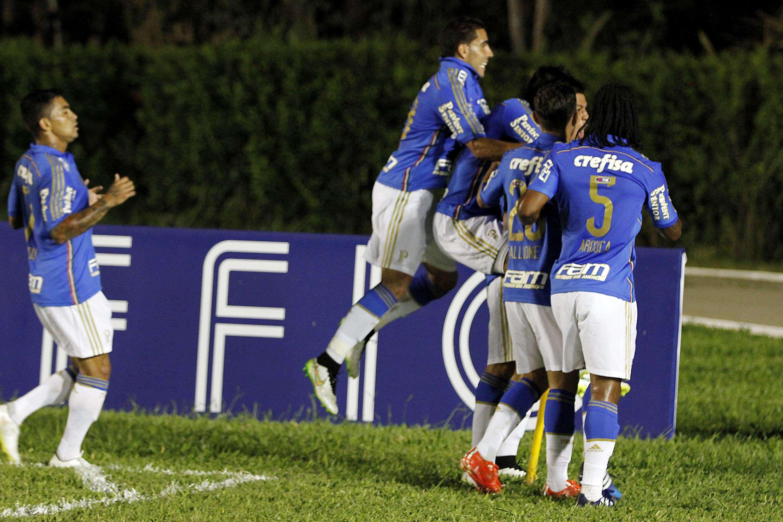 Palmeiras despacha rival e avança direto na Copa do Brasil Foto: Elieze Oliveira/Futura Press