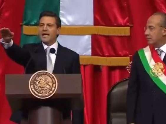 El partido tricolor llama a sus militantes a concretar la transformación que, señala, inició con el gobierno de Peña. Foto: YouTube