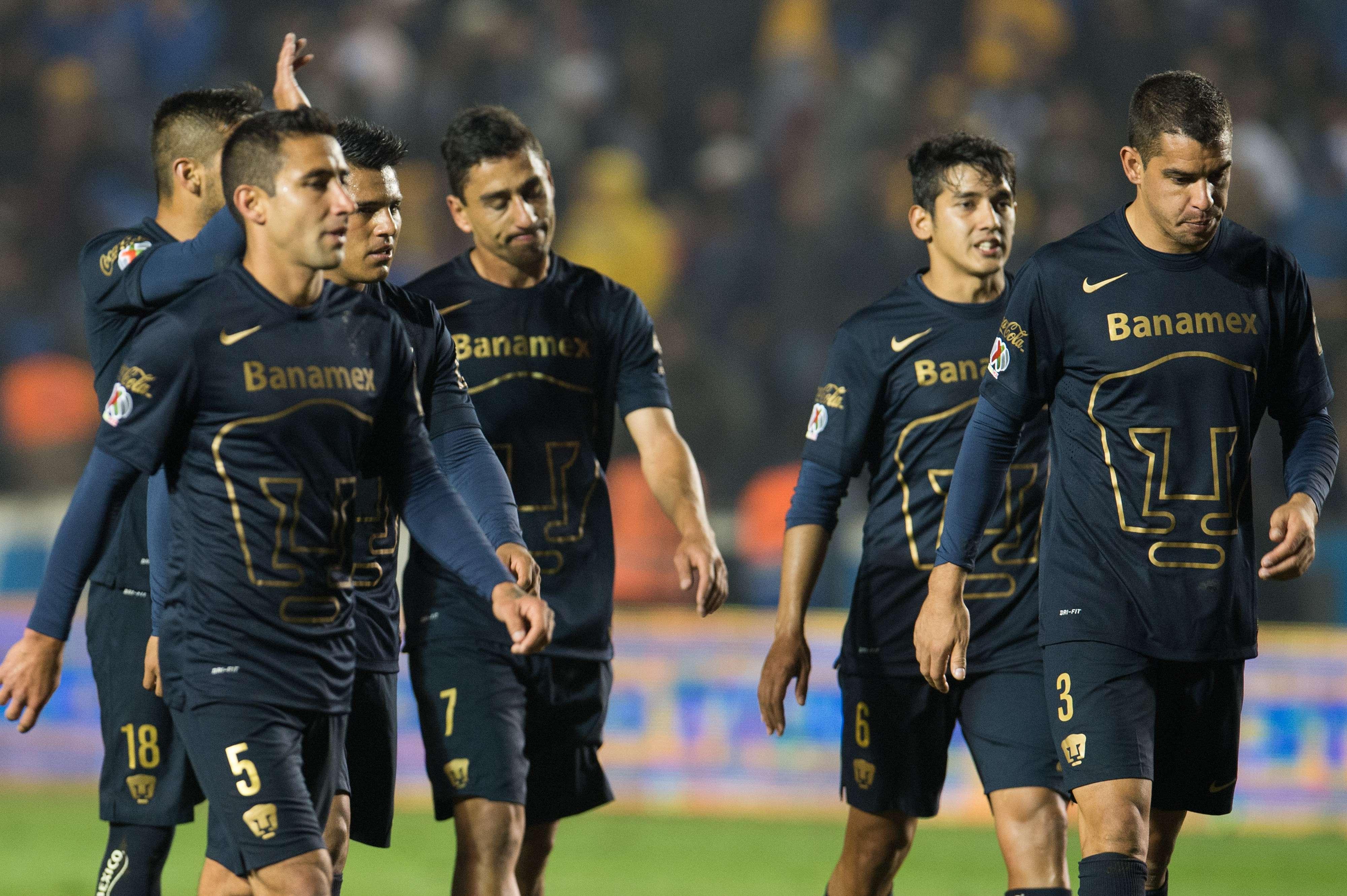 Universidad Nacional no levanta en el Clausura 2015. Foto: Mexsport