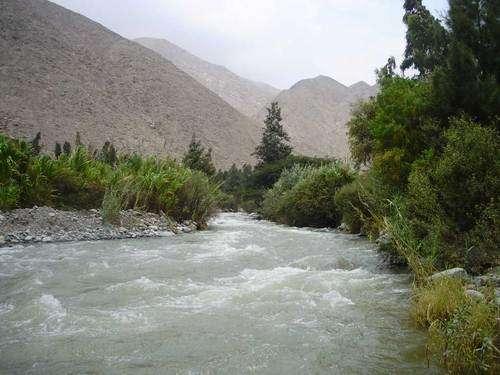 Río Lurín Foto: Gentileza
