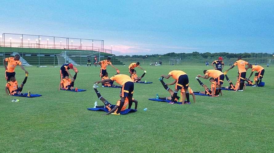 La Selección Colombia Sub-17 empieza el camino rumbo al Mundial. Foto: Federación Colombiana de Fútbol - Página Oficial