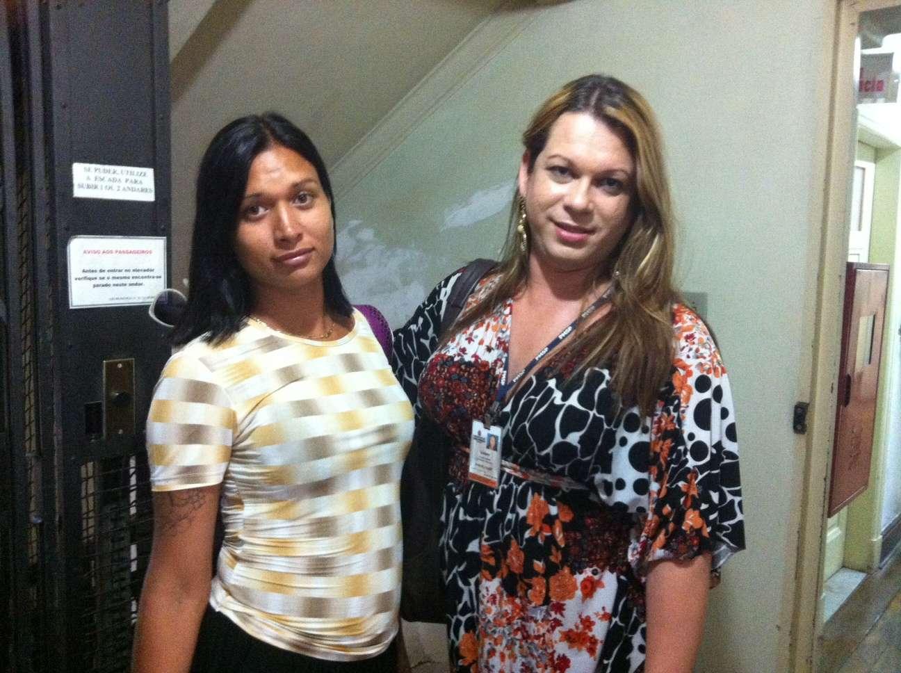 Aluna do Transcidadania, prostituta sonha em ser enfermeira Foto: Elisa Feres/Terra