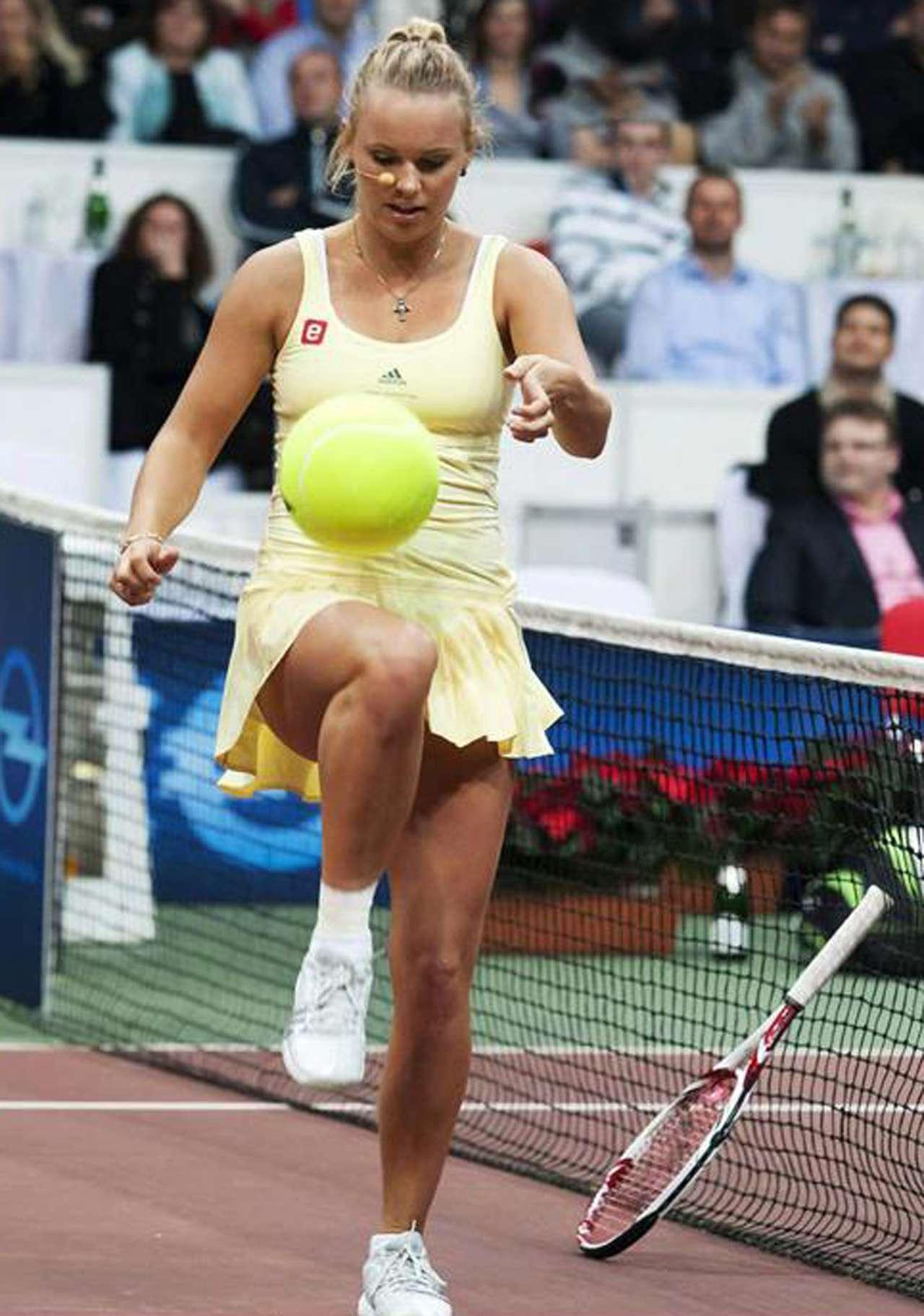 Wozniacki domina muy bien la pelota. Foto: Getty Images
