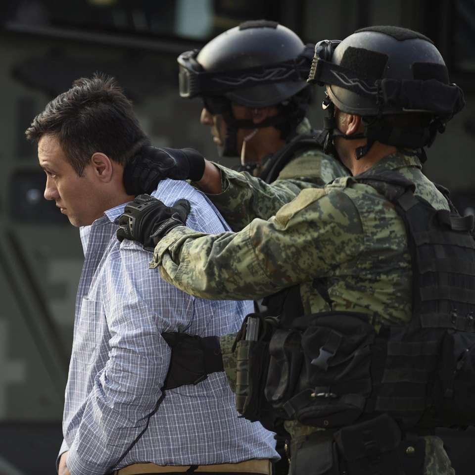 """El líder máximo del cártel de """"Los Zetas"""", Omar Treviño Morales, fue capturado por fuerzas federales mexicanas. Foto: AFP en español"""
