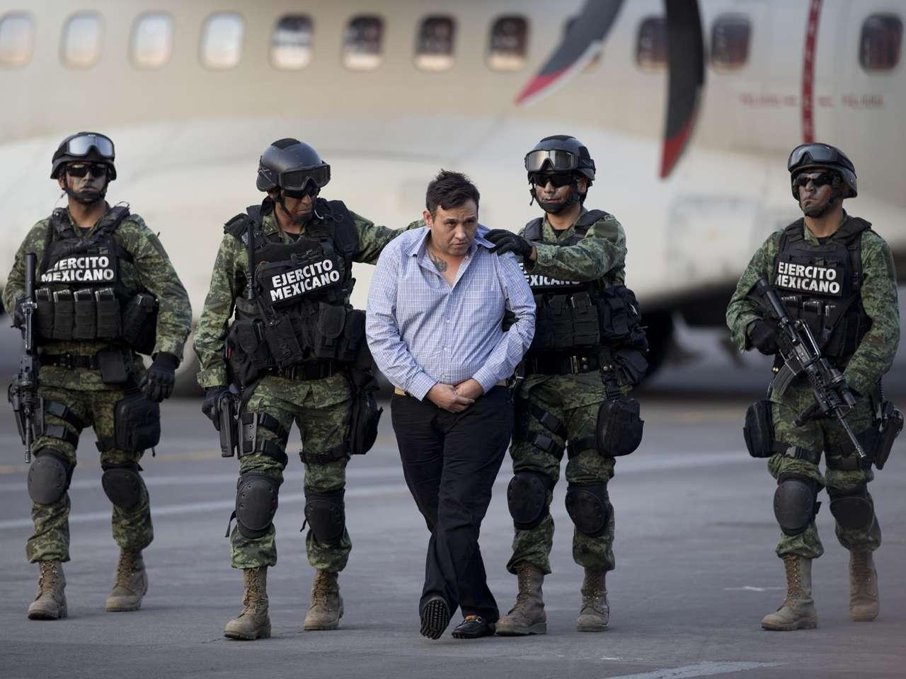 """El líder máximo del cártel de """"Los Zetas"""", Omar Treviño Morales, fue capturado por fuerzas federales mexicanas. Foto: AP en español"""