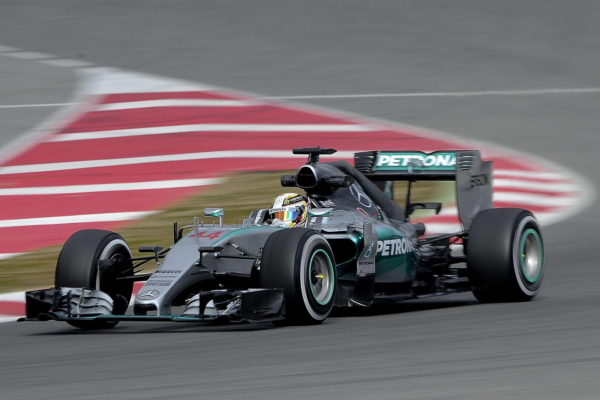 Mercedes hizo el 1-2 con Hamilton y Rosberg en el campeonato de pilotos. Foto: AFP en español