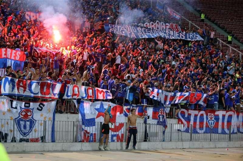 Universidad de Chile volvió a los festejos al conseguir un revitalizador triunfo ante The Strongest por 3-1 que le permitió seguir con vida en el Grupo 4 de la Copa Libertadores. Foto: Photosport