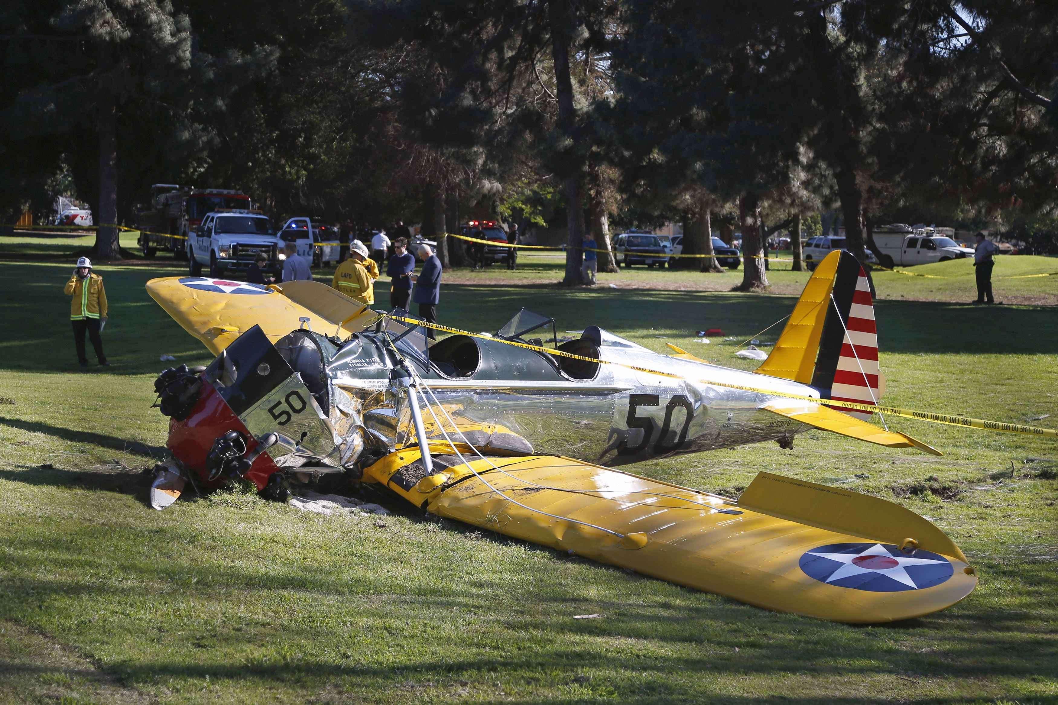 Harrison Ford había retrasado el rodaje de su escenas para el episodio 7 de 'Star Wars' después de un accidente piloteando el 'Halcón Milenario'. Foto: Reuters en español