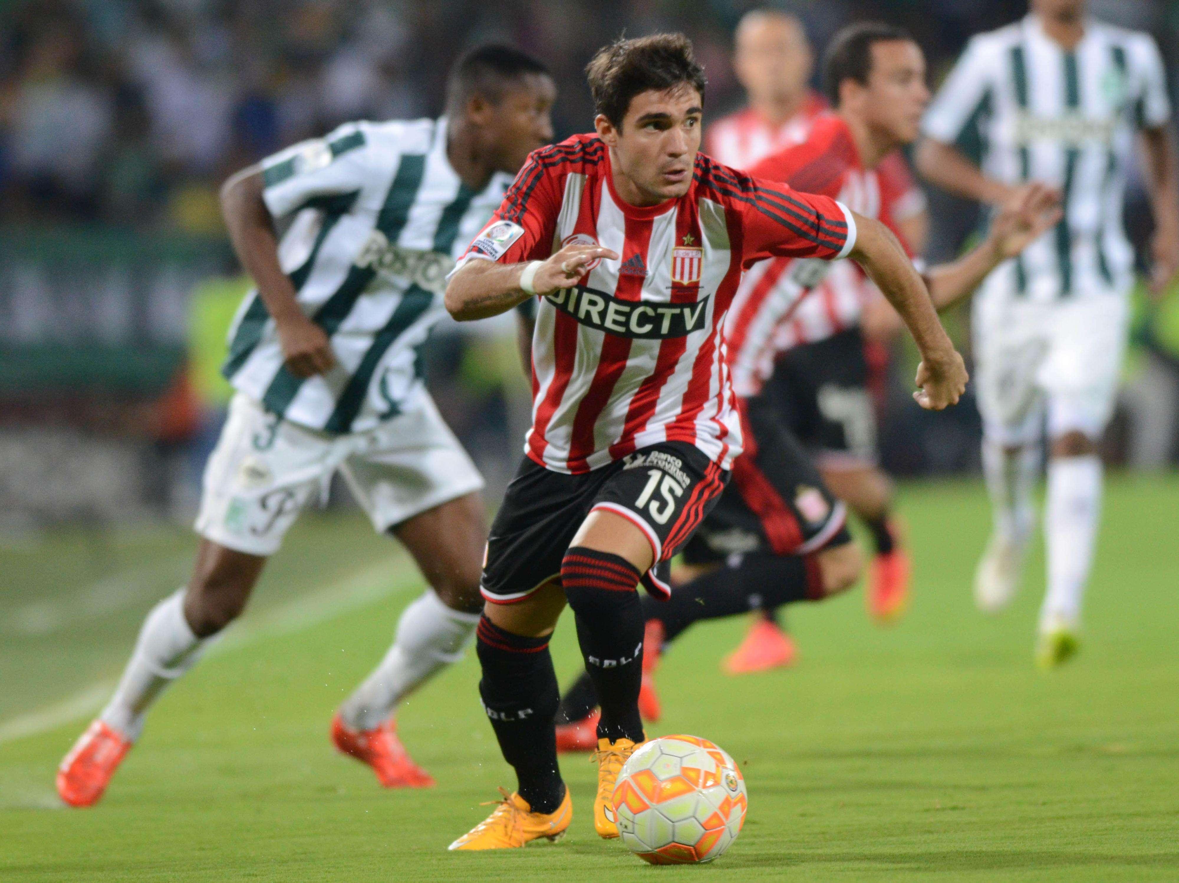 Atlético Nacional y Estudiantes dividen puntos en partido del Grupo 7 de la Copa Libertadores Foto: AP